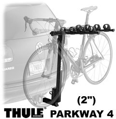 "Thule 956 Parkway Hitch Bike Rack for 2"" trailer receivers"