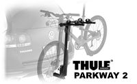 "Thule 958 Parkway 2 Bike Rack for 2"" hitrch receiver mounting with tilt down frame"