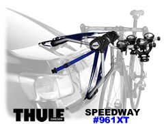 Thule 961xt Speedway 2 Bike Car Trunk Racks
