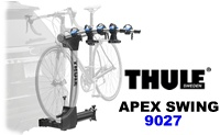 Thule 9027 Apex Swing away hitch mounted bike racks carry up to 4 bicycles model 9031