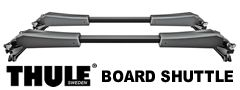 Thule 811XT SUP and Surf Board Shuttle roof top carrier