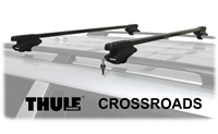 Thule 450 Crossroad Roof Rack Foot Pack : 45050 Roof Rack Package with loacks and load bars 45058