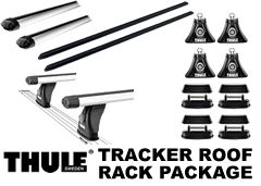 Thule 430r Rapid Tracker Roof Rack Package From Proline