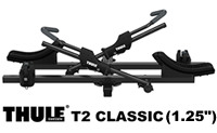 "Thule T2 Classic model 9045 2 Bike Folding 1.25"" Hitch Platform style bicycle racks"