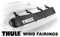 Thule Wind Fairings for car roof racks models 870XT, 871XT, 872XT and 873XT