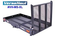 Versahaul VH-MS-XL heavy duty mobility scooter hitch cargo rack carrier with ramp.