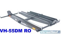 Versahaul VH55DM-RO Two Motorcycle Hitch Carrier Racks with Dirt Bike loading ramp