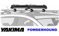 Yakima PowderHound Ski Racks and Snowboard Car roof rack attachment