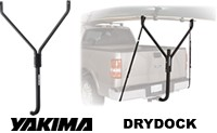 Yakima Drydock 8002459 hitch mounted load bar rack for boat, kayaks, canoes lumber, ladders and other long loads