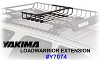 Yakima Loadwarrior extension 8007074 safari rack entender