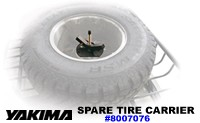 Yakima Spare Tire Carrier 8007076